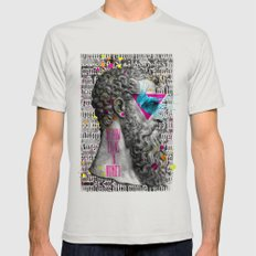 Socrates SMALL Mens Fitted Tee Silver