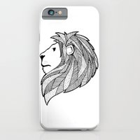 iPhone & iPod Case featuring Lion by Anne Crittenden