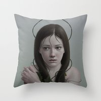 281 Throw Pillow