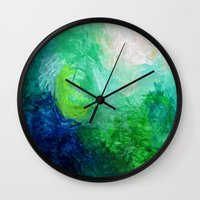 Water No. 1  Wall Clock