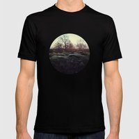 Moss Mens Fitted Tee Black SMALL
