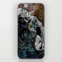 Crawled Out of the Sea  iPhone & iPod Skin