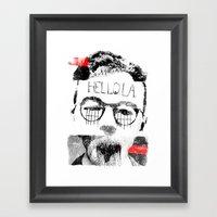 Hello.L.A. Framed Art Print