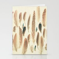 Found Feathers Stationery Cards