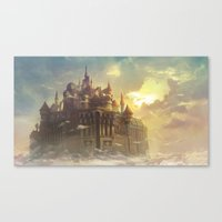 High castle Canvas Print