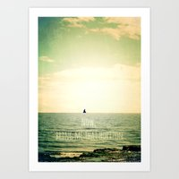 Now, bring me that horizon Art Print