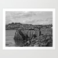 Instow Beach Art Print