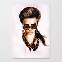 Fashion Illustration - G… Canvas Print