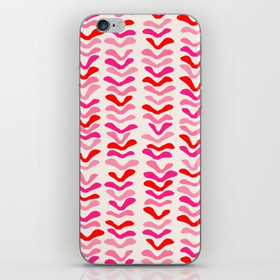 Rhythm Pink iPhone & iPod Skin