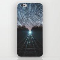Railroad of Time iPhone & iPod Skin
