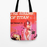 Vonnegut -  The Sirens O… Tote Bag