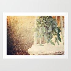 Garden Green Art Print