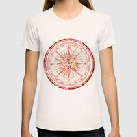 Follow Your Own Path II Womens Fitted Tee Natural SMALL