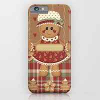 Gingerbread Country Chri… iPhone 6 Slim Case