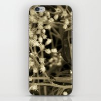 Tiny Fall Flowers iPhone & iPod Skin