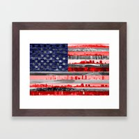 My America Framed Art Print