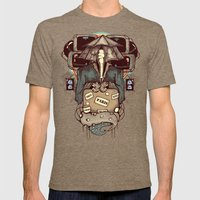 Transcendental Tourist Mens Fitted Tee Tri-Coffee SMALL