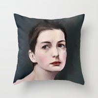 Fantine Throw Pillow