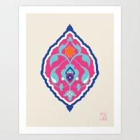 Torenj Blossom Art Print