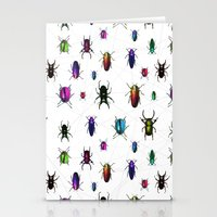 Beetles Stationery Cards