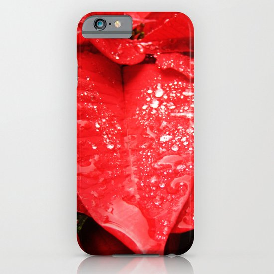 Poinsettia iPhone & iPod Case