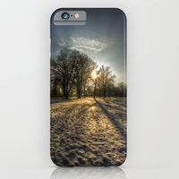 iPhone & iPod Case featuring Frozen shadows. by Cozmic Photos