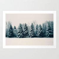 Winter & Woods Art Print