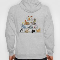 Cats Pyramid Hoody
