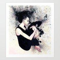 J Anne III Art Print