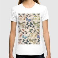 Insect Jungle Womens Fitted Tee White SMALL
