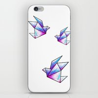 Origami Pastels iPhone & iPod Skin