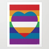 LOVEBOW Art Print
