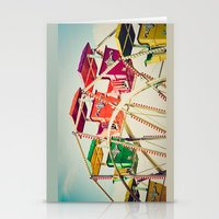 Colorful Ferris Wheel Ca… Stationery Cards
