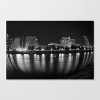 living in a fish bowl Canvas Print