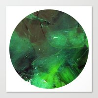 Emerald Occulus Canvas Print