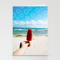 Popsicle  Stationery Cards