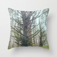 Old Growth Throw Pillow