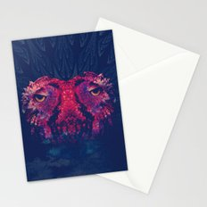 OWLS - Psychedelic | Art | Movement | Pop Art | Abstract | Animals | 70's | Trip  Stationery Cards