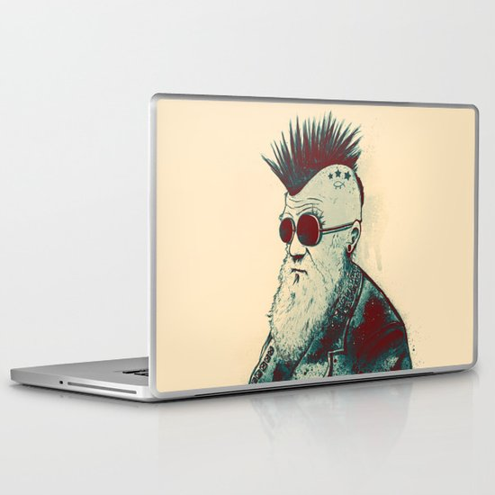 Evolution of Charles Laptop & iPad Skin