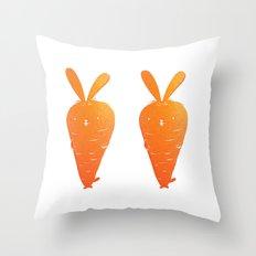 Cabbit Throw Pillow