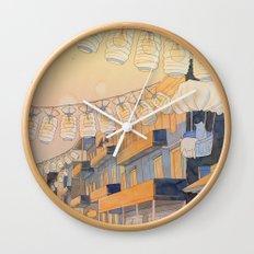 Discovery at Dusk Wall Clock