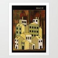 MACIE Art Print