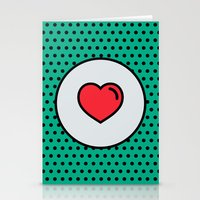 Love Is In The Air! Stationery Cards