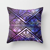 Ancient Galaxy Throw Pillow