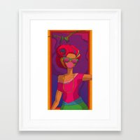 Extinction/Fashion! Framed Art Print
