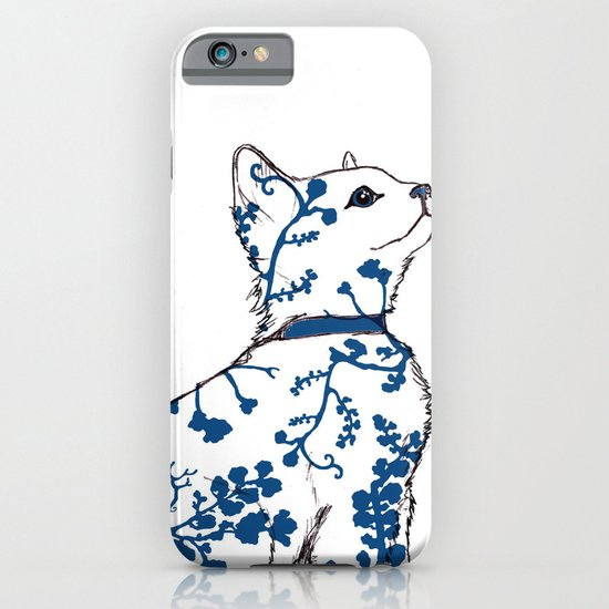 Floral Kitten iPhone & iPod Case