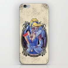 Zombie Cinderella iPhone & iPod Skin