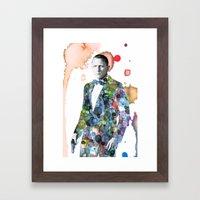 Bond, James Bond Framed Art Print