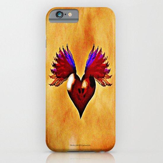 FLYING SKULL HEART iPhone & iPod Case