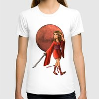 Mars Princess Womens Fitted Tee White SMALL